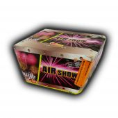 Airshow 49 Shot Fan Cake Firework by Klasek