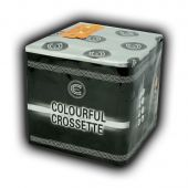Colourful Crossette Low Noise Firework by Celtic Fireworks