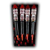 Dum Bum Firework Rocket by Klasek