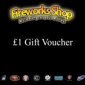 Fireworks Shop £1.00 VOUCHER