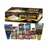 Royal Flush barrage pack By Primed Pyrotechnics