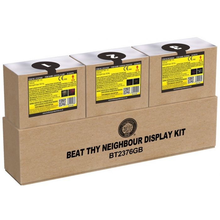 Beat Thy Neighbour - 106 Shot Display