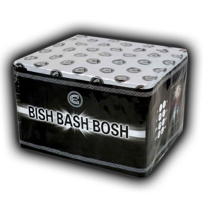 Celtic Fireworks Bish Bash Bosh - Single Ignition Barrage
