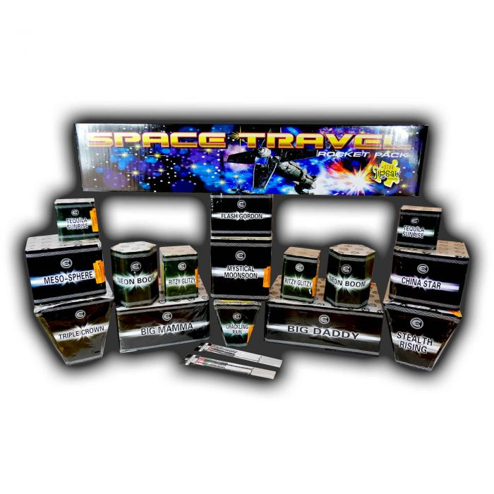 Celtic Fireworks Pro FX High Impact Display Pack