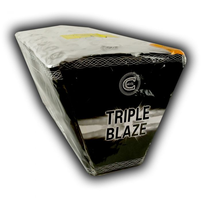 Celtic Fireworks Triple Blaze Box
