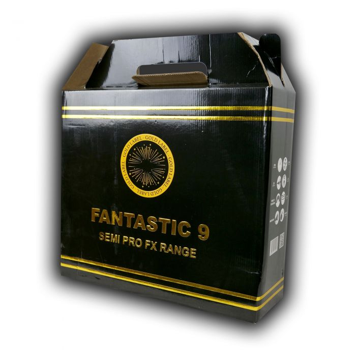 Fantastic 9 Gold Label Pro Fx - Firework Pack