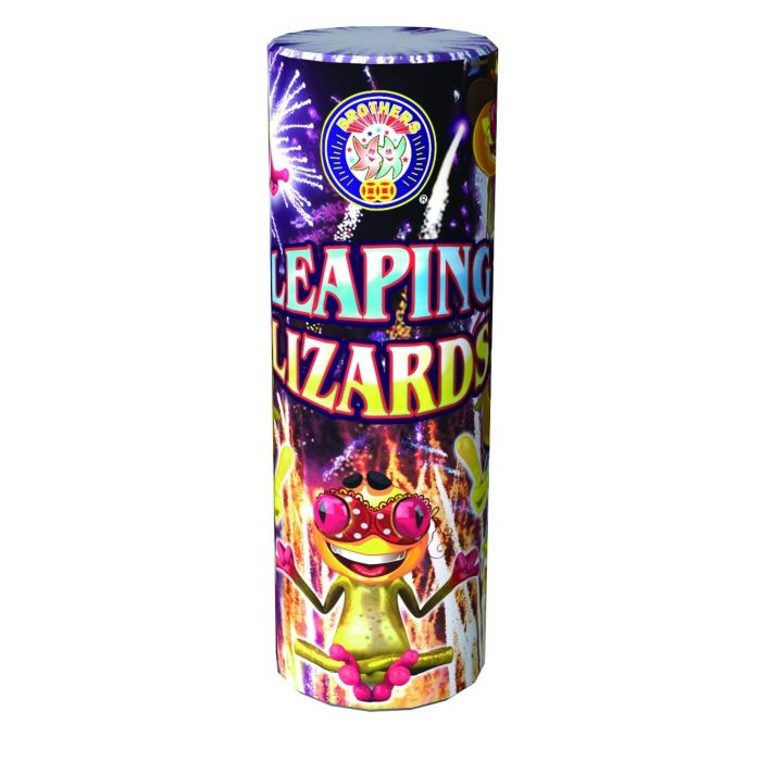 Fireworks Fountain - Leaping Lizards - Low Noise