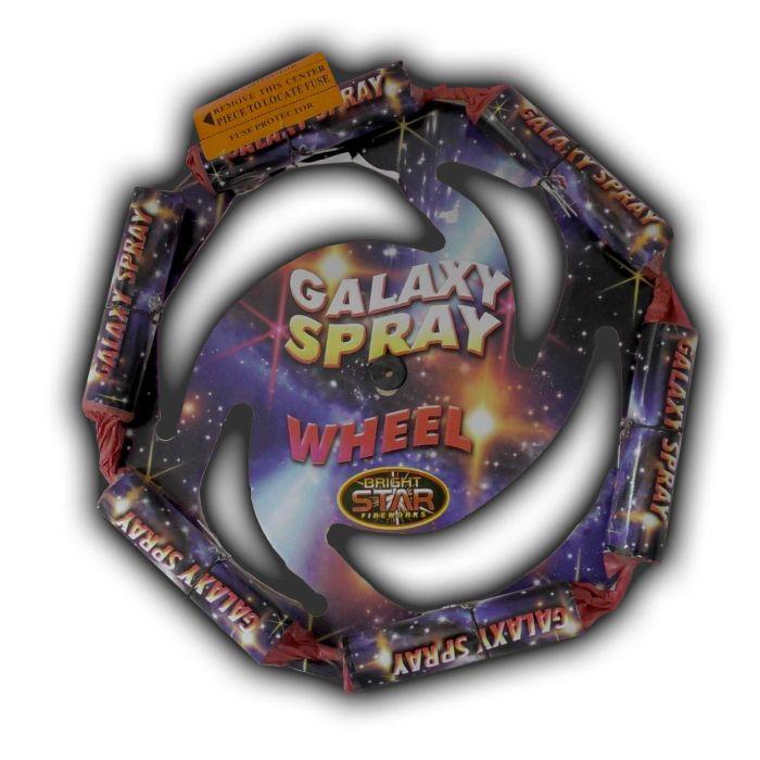 Galaxy Spray Firework - Low Noise
