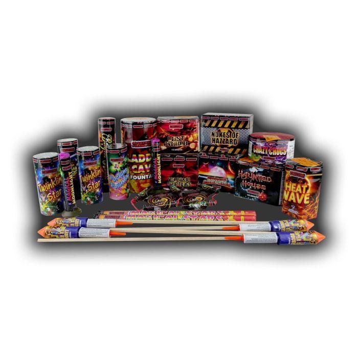 Masquerade Fireworks Selection Box