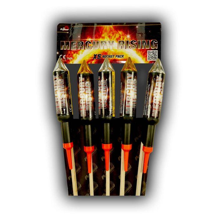Mercury Rising Double Break Rockets
