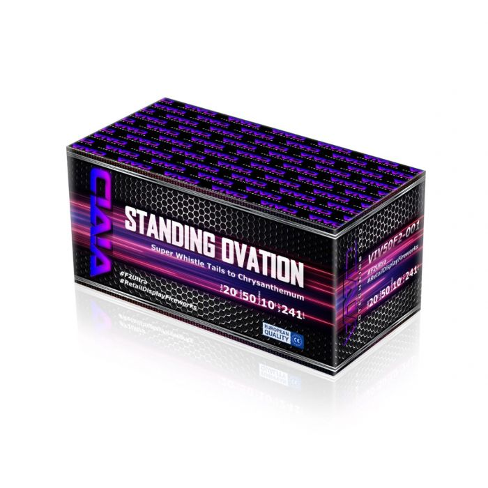 Standing Ovation By Vivid Pyrotechnics