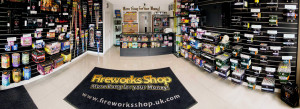 In-store to buy fireworks